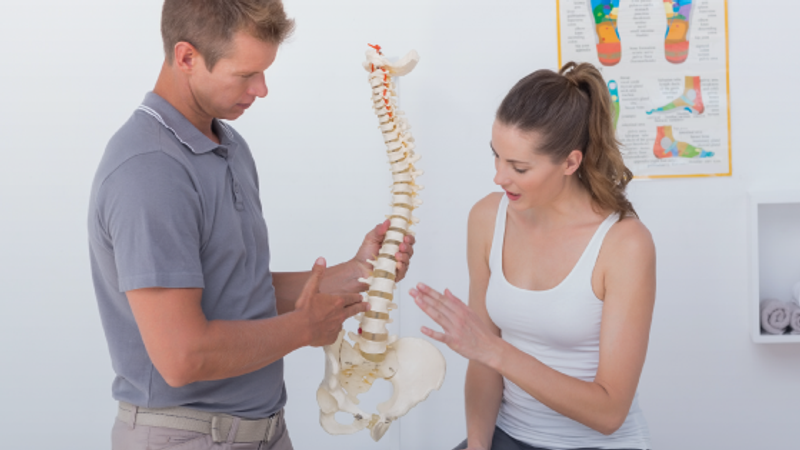 What are the symptoms of a herniated or slipped disc